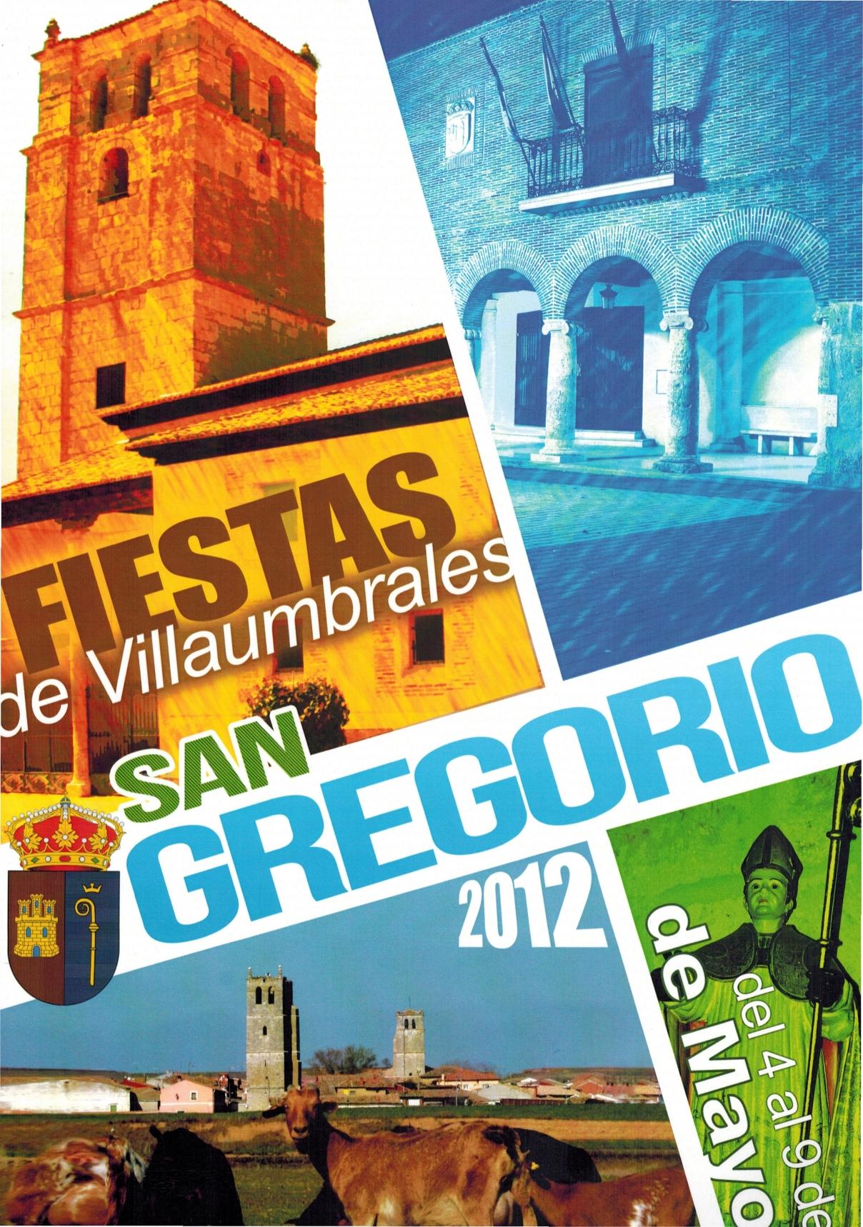 Programa de Fiestas San Gregorio 2012